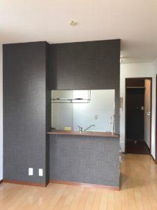 キッチン おしゃれな壁紙